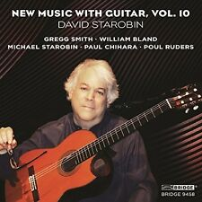 New Music With Guitar 10 - Chihara / Smith / Ruders / Starobin (2016, CD NIEUW)