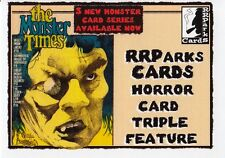 MONSTER TIMES, THE 2014 RRPARKS CARDS PROMO CARD 4 SPOOF ART SF