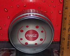 COCA - COLA AMERICAN IDOL SET OF 2 COASTERS IN PADDED TIN MY COKE REWARDS ITEM