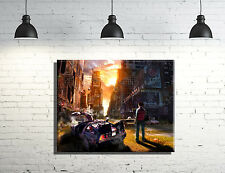 Back to The Future Inspired Canvas Wall Art New York (framed) Movie Inspired