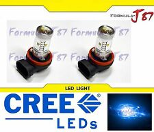 CREE LED 30W H11 BLUE 10000K TWO BULB HEAD LIGHT FOG QUALITY JDM LAMP REPLACE K