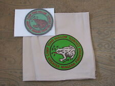 Camp Toad Hollow (NY) Neckerchief + Patch  BSA