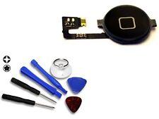 Für iPhone 4s Homebutton Home Button Flex 4s - Schwarz & Werkzeug Set NEUWARE