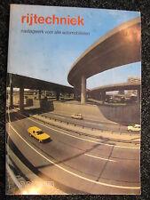 ANWB Book Rijtechniek naslagwerk voor alle automobilisten 1981 (Nederlands)