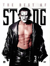 WWE ECW WCW: THE BEST OF STING [DVD 2014 3-Disc Set] BRAND NEW SEALED