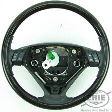 Volvo Black/Wood Style 3 spoke Steering Wheel 30643885 fits XC90 03-04