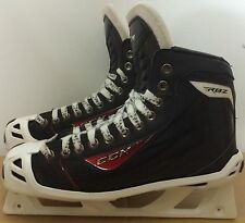 CCM RBZ Mens Pro Stock Hockey Goalie Skates Size 9 D 5586