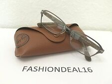 New Authentic Rayban Titanium/Brown RB8707 1073 Eyeglasses