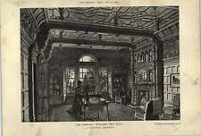 1902 Library Weelsby Old Hall Jj Creswell Architect