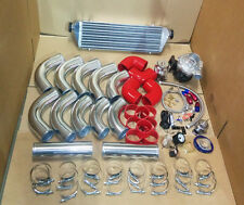 UNIVERSAL T3/T4 TURBO KIT TURBOCHARGER+INTERCOOLER+PIPING KIT+BOV+BOOST GAUGE