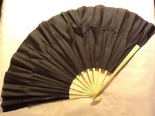 """New 16"""" Dancing Stage HAND FAN Folding Japanese Chinese Asian Home Decor"""