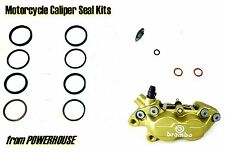 Ducati Monster 600 M600 1999 99 Brembo Goldline Freno Delantero Caliper Kit De Sello