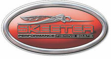 Oval  Skeeter Decal Sticker for BASS fishing