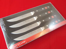 Wusthof Classic 4 piece Steak Knife Set - 4 X 4068/12, 9731 - NIB