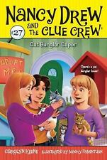 Cat Burglar Caper (Nancy Drew and the Clue Crew) Keene, Carolyn Paperback