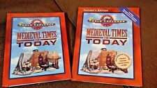 Prentice Hall World Explorer MEDIEVAL TIMES TO TODAY SET OF 2 homeschool text