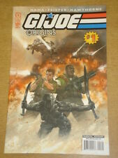 G.I. JOE ORIGINS #1 RI COVER 2009 IDW DAVE DORMAN