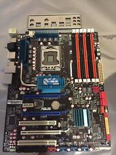 ASUS P6T LGA 1366 Intel X58 ATX Intel Motherboard+IO Shield+SATA Cables