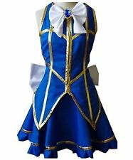 Fairy Tail Lucy Heartfilia Uniform Dress Cosplay Costume Halloween Custom Made