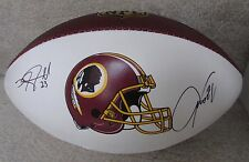 NFL 2016 Washington Redskins Hand Signed Autographed Football 17 Sigs