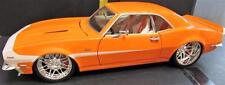 HOT WHEELS ORANGE 1968 CAMARO G MACHINES VHTF LOOSE 1/18 DIECAST CAR