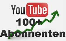 Neu. 100+ HQ YouTube Abonnenten Youtube Abos Social Media Market
