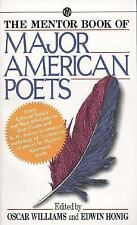 The Mentor Book of Major American Poets  Mass Market Paperback
