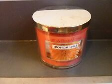 Tropical Spice Candle 14.5 oz 3 wick Bath & Body Works