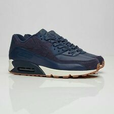 Nike AIR MAX 90 Premium UK 9 EUR 44 Navy = 700155 401 NUOVI