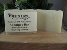 Shampoo Bar -Damaged Hair & Dry Scalp Formula  -Vegan - Organic - Natural