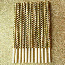 25 Gold Bling Cake Pop Sticks Gold Rhinestone Cake Pop Sticks