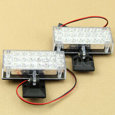 2X22 LED Car Truck Recovery White Security Strobe Light NEW