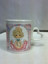 "#494 PRECIOUS MOMENTS COFFEE MUG 1996 ""YOU HAVE TOUCHED SO MANY HEARTS"""