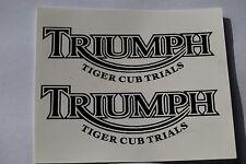 TRIUMPH TIGER CUB TRAILS WATERSLIDE TANK TRANSFER SET