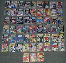 Vintage Star Wars Comics 61-117 X MINI DISPLAY CARDS.WEEKLY,RETRO COVERS.SET-2