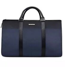 NWT~Michael Kors Large Man Jet Set Duffle Travel Weekender Bag Black/Navy