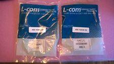 1 lot of 2 L-COM TRD450CR-15 Cat5e