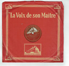 78T Lina WALLS J. METEHEN Disque QUI.. BOUQUET VIOLETTES Operette Chanté VM 8852