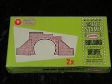 AURORA Postage Stamp N Gauge Model Railway Kit Tunnel Portals x 2 1960s