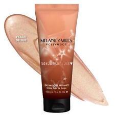 Gleam Melanie Mills Body Radiance Peach AUTHENTIC!!! Moisturizer 1.0 oz