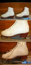 """Ice Skates Harlick HightTest4 8.75"""" Freestyle stiff boots Select Classic blades"""
