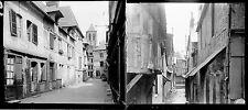 PONT AUDEMER c. 1920 - 16 Stéréos Verre Eure Normandie - 179