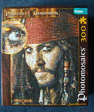jigsaw puzzle Jack Sparrow Pirates of the Carribbean Photomosaics 300 pcs