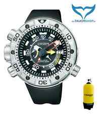 Citizen ProMaster marine Aqualand bn2021-03e 20bar Eco-drive Go perfeccionado de acero inoxidable