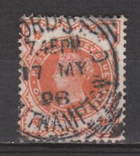 Great Britain nr 86 TOP CANCEL Victoria 1887 VEILING oude POSTZEGELS ENGELAND