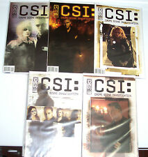 C.S.I. 1-5 +BAD RAP 1-5 +DEMON HOUSE 1-5 +DOMINOS 1-5 IDW 20 Comic Books! Crime