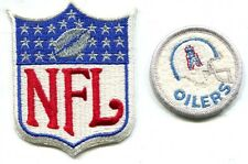 Houston Oilers Embroidered NFL Team Patch & NFL Embroidered Shield Patch