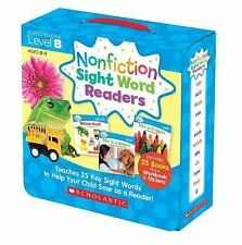 Nonfiction Sight Word Readers Parent Pack 2 : Teaches 25 Key Sight Words to...