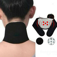 Tourmaline Thermal Pain Relief Self-Heating Neck Brace Pad Support Strap Useful