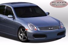 Fit Infiniti G35 05-06 4dr Nismo style Urethane Front Bumper Body Kit Free Mesh